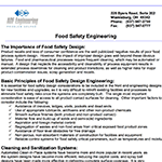 Food Safety Design