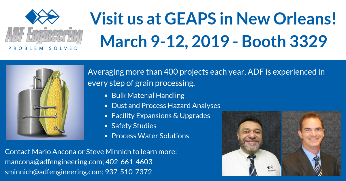 Visit Booth 3329 At GEAPS In New Orleans!
